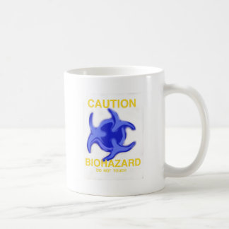 Caution Biohazard Basic White Mug