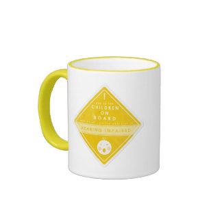 Caution Children On Board Mug