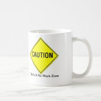 Caution Coffee Mug