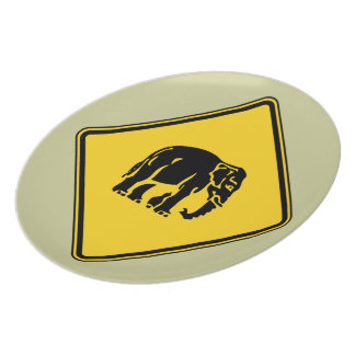 Caution Elephants Crossing ⚠ Thai Road Sign ⚠ Plate