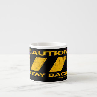 Caution Espresso Cup