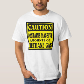 CAUTION , Full of gas. T-Shirt