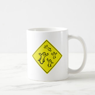 Caution Ghosts Mug