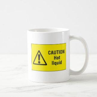 Caution Hot Liquid - Mug
