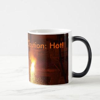 Caution: Hot! Morphing Mug