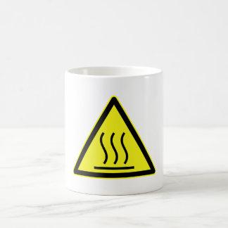 Caution hot surface mug