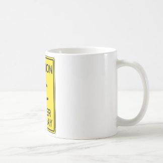 Caution: Maker at Play Coffee Mug
