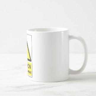 Caution: Maker at Work Coffee Mug