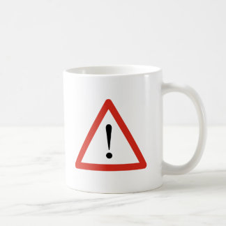 Caution Coffee Mugs