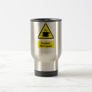 Caution Sign Tea Mug