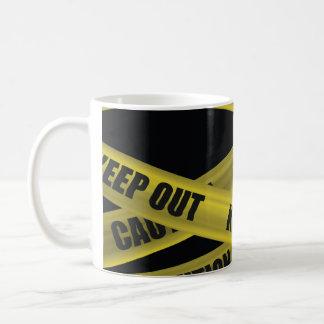 Caution Tape Basic White Mug