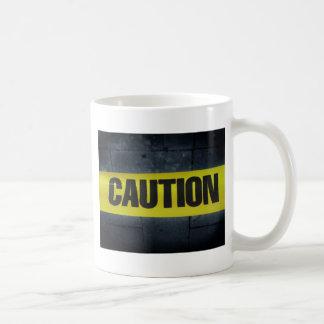 Caution Tape Coffee Mugs
