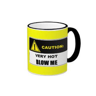 CAUTION: VERY HOT Blow Me Mug