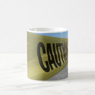 Caution! Very Hot Coffee Mug