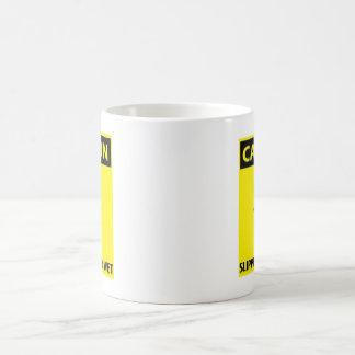 Caution Wet mug