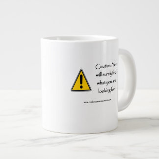Caution You Will Surely Find MUG Jumbo Mug
