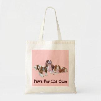 Cavalier King Charles Spaniel Breast Cancer Bag