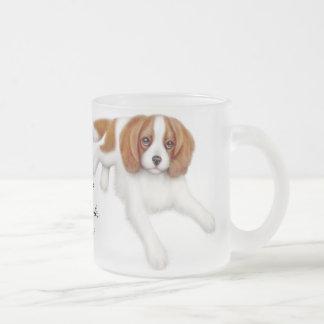 Cavalier King Charles Spaniel Frosted Mug