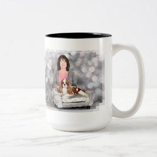 Cavalier King Charles Spaniel - Remington Two-Tone Coffee Mug