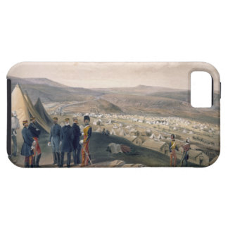 Cavalry Camp, plate from 'The Seat of War in the E iPhone 5 Case