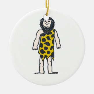 Caveman Christmas Ornament