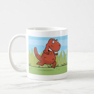 Caveman Dinosaur Mug