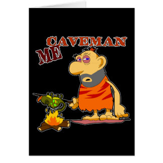 Caveman Greeting Card