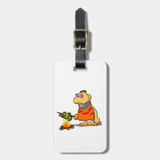 Caveman Luggage Tag
