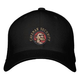 CAVEMAN SECURITY EMBROIDERED BASEBALL CAP