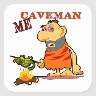 Caveman Sticker