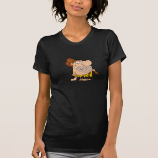 Caveman With Club Womens T-Shirt