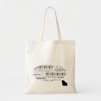 Cavyart Piggytalks Tote (Short haired) Budget Tote Bag