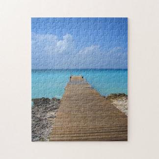 Cayman Island Dock Jigsaw Puzzle