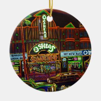 CBjork Osheas Las Vegas Artwork Christmas Ornament