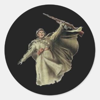 cccp-ussr-Soviet Russia Round Sticker
