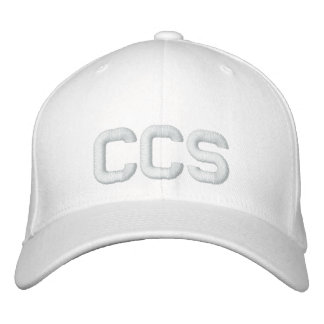 CCS Hat Embroidered Baseball Caps