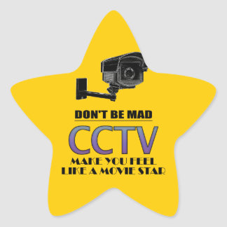 cctv star sticker