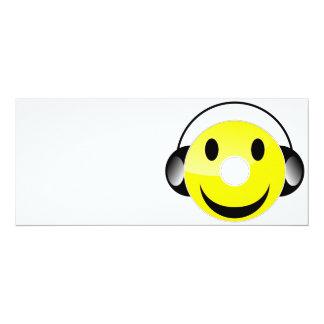 CD Smiley Card