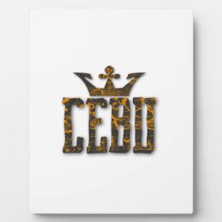 Cebu Royalty Plaque