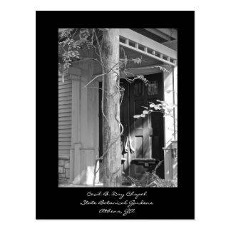 Cecil B. Day Chapel, Botanical Gardens, Athens, GA Postcard