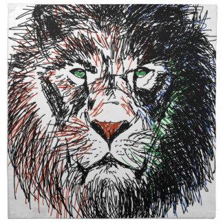 Cecil the lion napkin