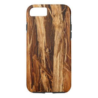 Cedar Textured Wooden Bark Look iPhone 8/7 Case