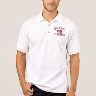Cedarcrest - Chargers - Junior - Spanaway Polo Shirt
