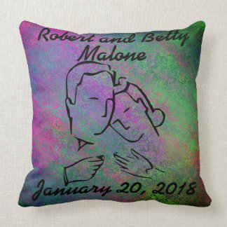 Celebrate Anniversary or Wedding Pillow