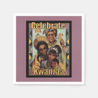 Celebrate Kwanzaa Kwanzaa Party Paper Napkins