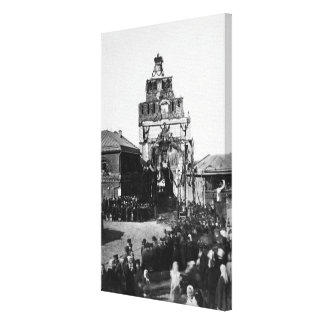 Celebration of the 500 year anniversary canvas print