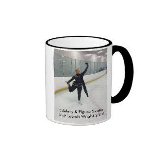 Celebrity & Figure Skater Ishah Laurah Wright Ringer Mug