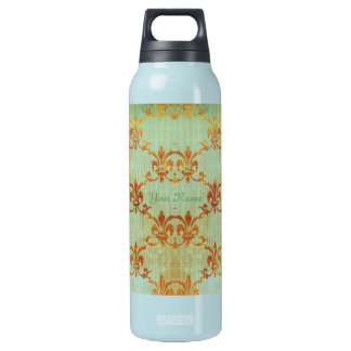 Celedon And Sienna Fleur Insulated Water Bottle