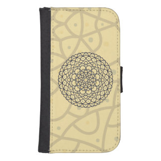 Celestial Day Smartphone Wallet Case
