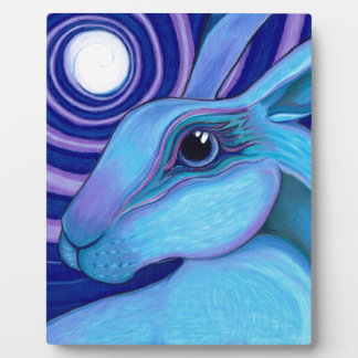 Celestial hare display plaques